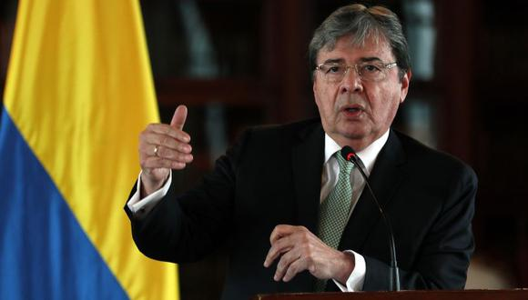 El ministro de Defensa colombiano, Carlos Holmes Trujillo. (Foto: EFE)