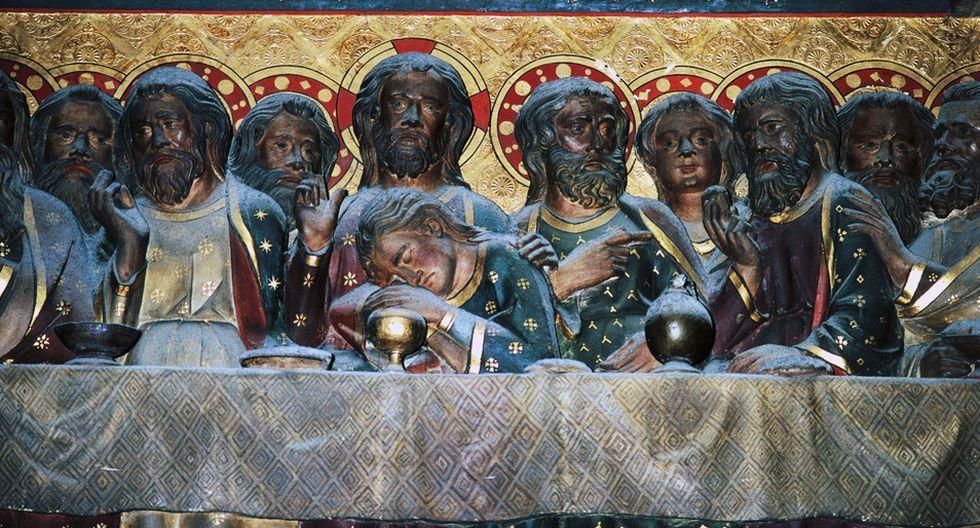 FOTO 6 | La última cena Este bajorrelieve, titulado Historias de la vida de Cristo, fue realizado por Jean Ravy, quien murió en 1345. Fotógrafo: DEA / C. SAPPA / De Agostini Editorial