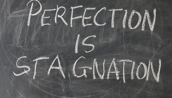La perfección es sinónimo de estancamiento. (Foto: Pixabay)