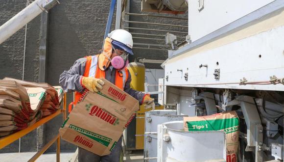 Julio marca la tendencia al alza de la producción y despacho de cemento a nivel nacional. (Foto: GEC)