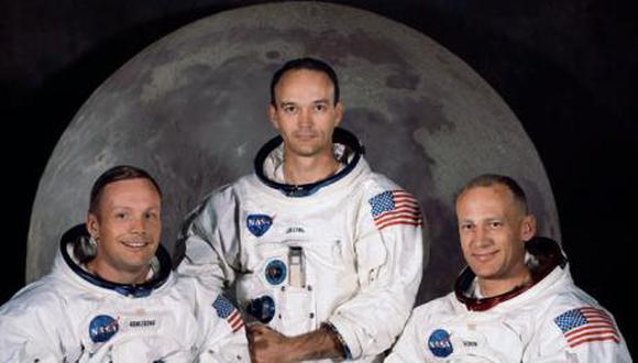 Miembros de la misión Apolo 11. (Foto: AFP/ NASA)