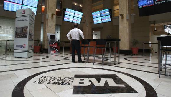 La Bolsa de Valores de Lima (BVL). (Foto: Andina)