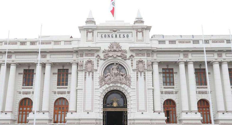Congreso peruano.