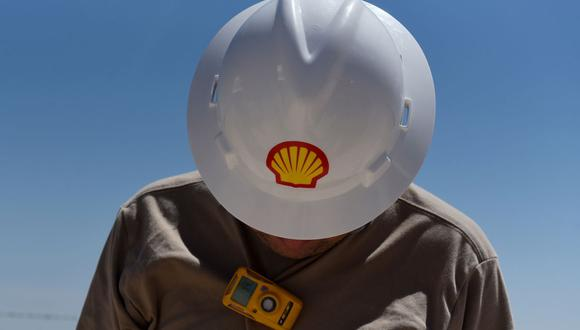 Shell dijo en febrero que sus emisiones de carbono y su producción de petróleo habían alcanzado su punto máximo y disminuirán en los próximos años. (Bloomberg)