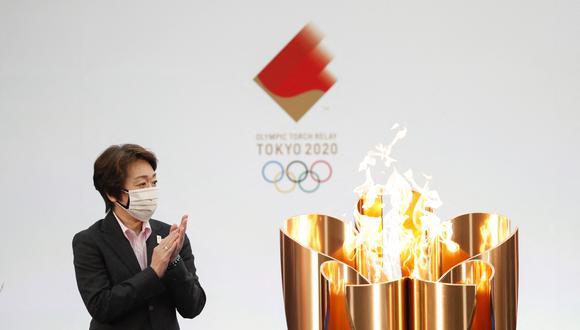 Seiko Hashimoto, presidenta del comité organizador de Tokio 2020. (Photo by KIM KYUNG-HOON / POOL / AFP)