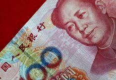 Nuevos préstamos de bancos en China caen más de lo esperado