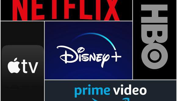 Se estima que compartir passwords les cuesta a los servicios de streaming varios miles de millones de dólares al año por ingreso perdido. (Foto: Netflix/Apple/Disney/Amazon/HBO).