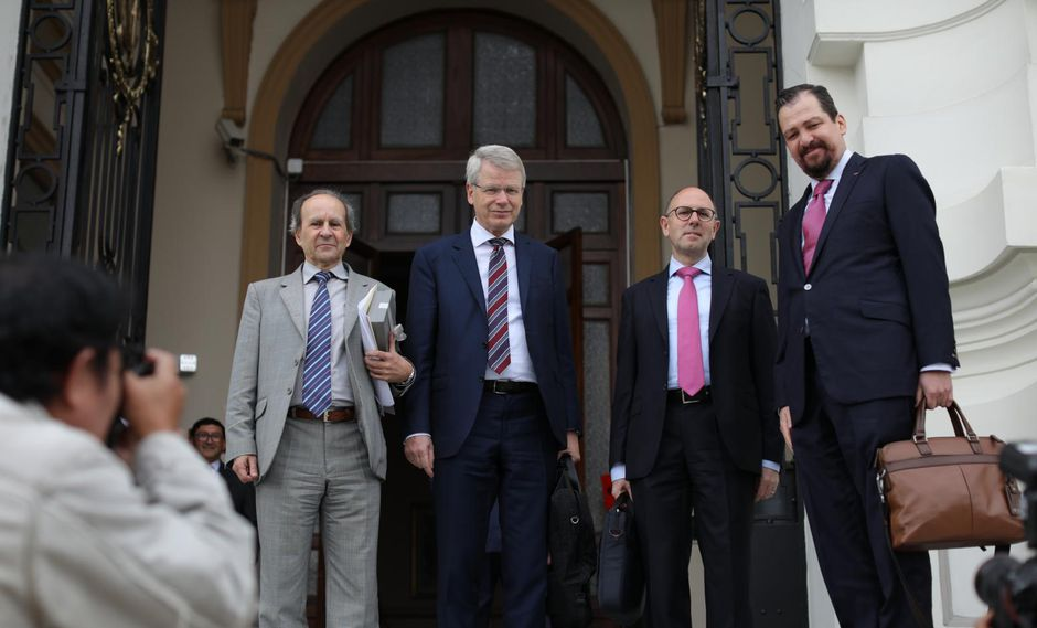 Los integrantes de la Comisión de Venecia estuvieron en nuestro país días antes de la disolución del Congreso. (Foto: GEC)