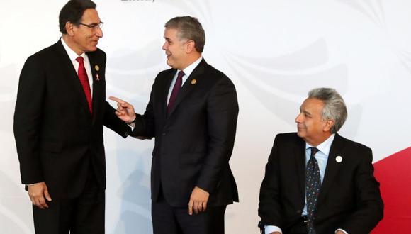 Cinco mandatarios de países amazónicos se reúnen hoy en Leticia, Colombia. (Foto: Reuters)
