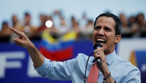 Guaidó, también presidente de la Asamblea Nacional, ha recibido el apoyo de decenas de países, incluyendo el de Estados Unidos.(Foto: Reuters)