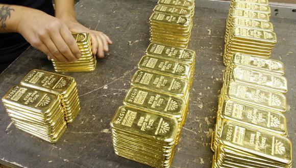 Los futuros del oro en Estados Unidos ganaban un 0.1% a US$ 1,801.60. (Foto: Reuters)