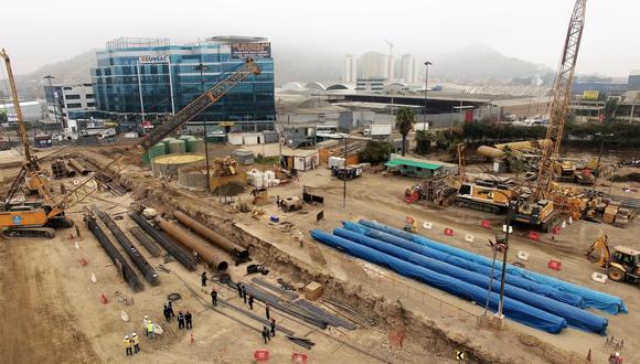 Se ha culminado la obra civil al 100% en las estaciones Mercado Santa Anita, Hermilio Valdizán y Ovalo Santa Anita, señaló Ositran. (Foto: GEC)