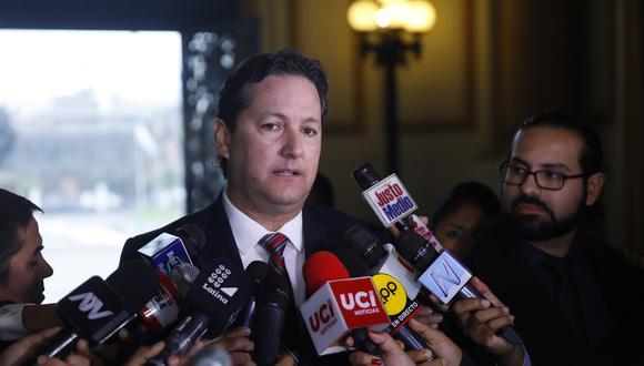 El presidente del Congreso, Daniel Salaverry, sostuvo que las instancias encargadas deberán determinar si Milagros Salazar cometió un delito o una falta. (Foto: Congreso)