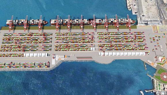 DP World avanza en el desarrollo de la denominada Fase 2 del Contrato de Concesión del Muelle Sur del Puerto del Callao. (Foto: DP World)