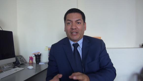 Miguel Ángel Carrillo, abogado tributarista y docente de la PUCP.