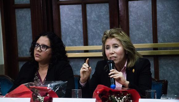 Rocío Sánchez y Sandra Castro fueron removidas de su cargo tras conocerse la reunión que tuvieron con Martín Vizcarra. (Foto: Difusión)
