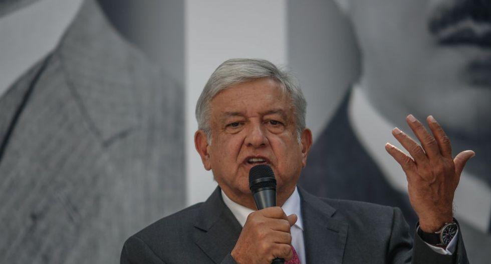 Presidente mexicano Andrés Manuel López Obrador.