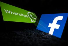 Usuarios reportan caída de WhatsApp y Facebook a nivel mundial