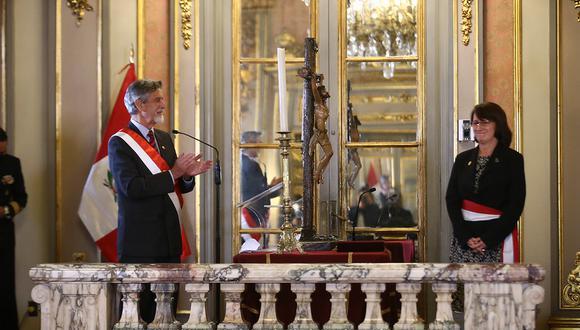 Mazzetti juró como ministra de Salud por segunda vez este año el último miércoles. (Foto: Presidencia)