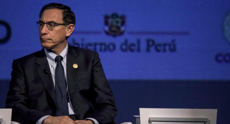 Vizcarra cree que el Congreso aprobará de todas maneras el recurso constitucional dentro del plazo establecido. (Foto: GEC)