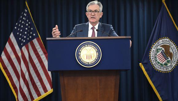 Las palabras de Powell contrastan con la insistencia del presidente Donald Trump por mayores recortes en el precio del dinero y su reiteradas críticas a la Fed, a la que ha acusado de suponer un obstáculo a la expansión económica. (Foto: AFP)