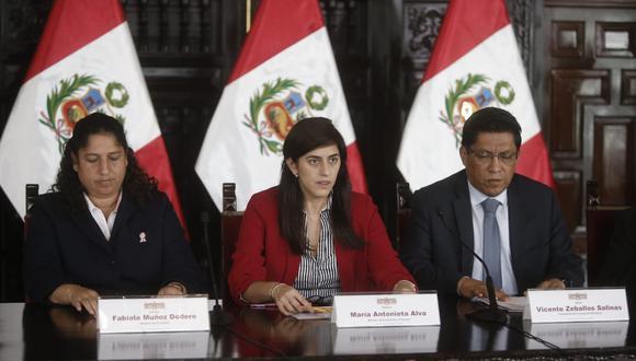 Ministra de Economía, María Antonieta Alva. (Foto: GEC)