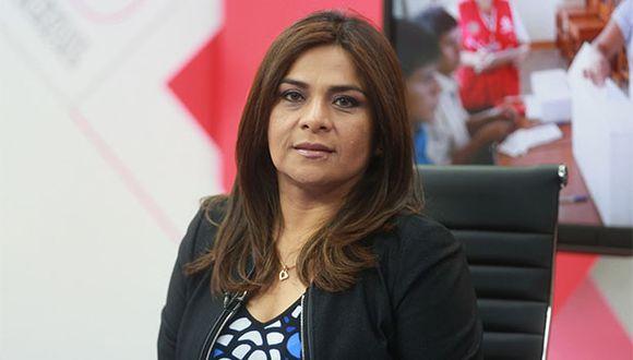 Esther Capuñay reconoció su derrota en las Elecciones 2018. (Foto: Agencia Andina)