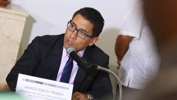 El procurador Amado Enco confía en que la Fiscalía incluya a Aráoz, Giuffra y Bruce en la pesquisa por mamanivideos (Foto: Andina).