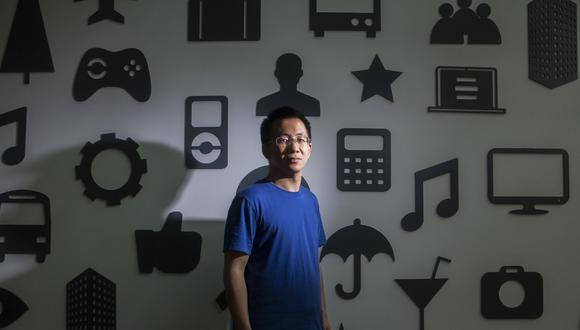 Zhang Yiming. (Foto: Bloomberg).