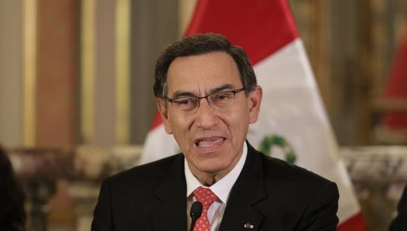 El presidente Martín Vizcarra dialogará sobre la propuesta de adelanto de elecciones. (Foto: GEC)