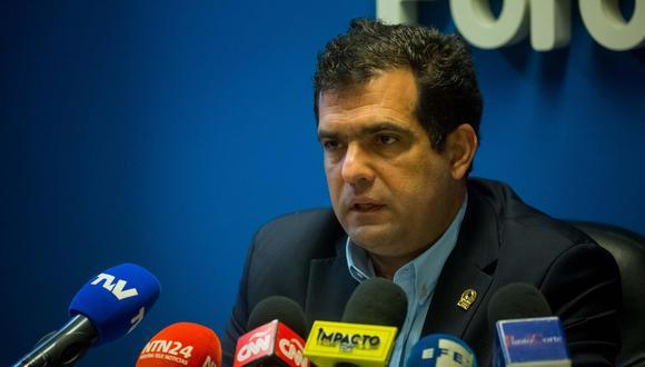 El director y presidente de la ONG Foro Penal, Alfredo Romero, en una fotografía de archivo. (Foto: EFE/Miguel Gutiérrez)