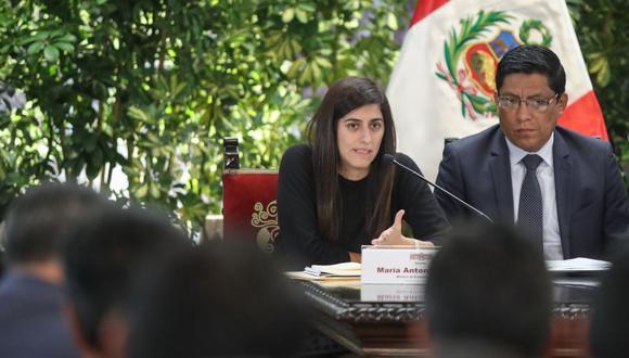 Ministra de Economía, María Antonieta Alva. (Foto: Agencia Andina)