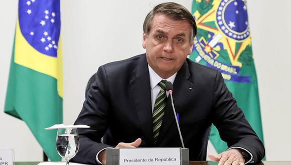 """Según Bolsonaro, """"lo único"""" que tiene en común con Bachelet es el nombre Michelle, el mismo de su esposa. (Foto: AFP)"""