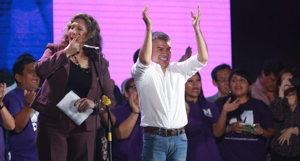 El ex aspirante presidencial Julio Guzmán, líder del Partido Morado. (Foto: Lino Chipana/ GEC)