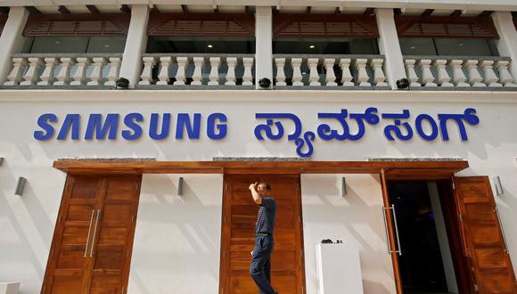 Samsung en la India (Foto: Reuters)