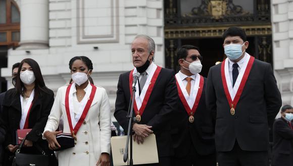 Hernando Guerra García, vocero de Fuerza Popular. (Foto: Anthony Niño de Guzmán / @photo.gec)