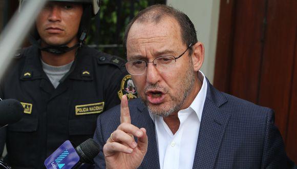 José Chlimper es acusado como coautor de la adulteración de audios en agravio del piloto Jesús Vásquez. (Foto: USI)