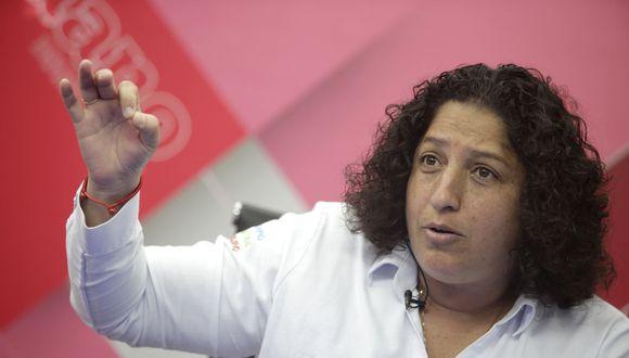 Fabiola Muñoz, ministra del Ambiente, explicó que el acuerdo fortalece a las instituciones del Perú. (Foto: Andina)