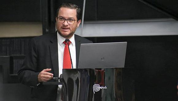 Ministro de Turismo y Comercio Exterior, Edgar Vásquez. (Foto: Mincetur)