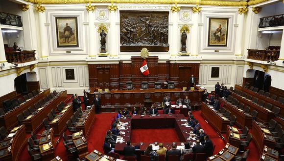Comisión Permanente revisa hoy cinco decretos de urgencia (Foto: GEC)
