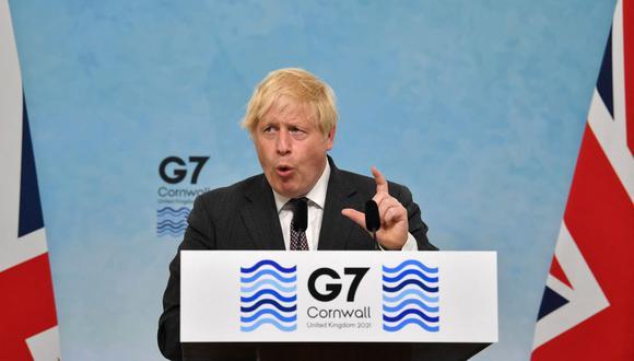 Johnson, que hace de anfitrión, quería que la cumbre sirviera para presentar al país como un actor influyente para resolver los problemas del mundo. (Foto de Ben STANSALL / AFP).