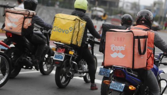 Posiblemente el domingo el tiempo de entrega se alargue un poco debido a la demanda, señalaron los servicios de delivery de terceros. (Foto: GEC)