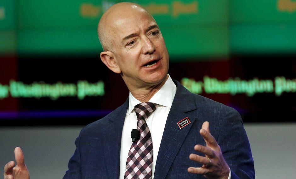 Forbes, el otro rastreador más importante del patrimonio neto de los más ricos del mundo, situó el patrimonio neto del CEO de Amazon en apenas $ 104,400 millones (Foto: Reuters).