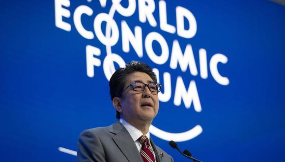 """""""La OMC está rezagada, no está al paso de los tiempos"""", señaló Shinzo Abe. (Foto: AP)"""