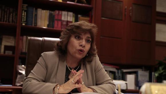 Zoraida Ávalos reiteró que no tiene ninguna amistad con el expresidente Martín Vizcarra. (Foto: GEC)