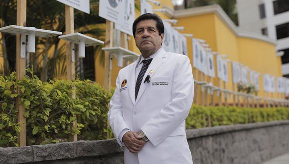 Miguel Palacios aseguró que los recursos humanos están disminuidos y desprotegidos en nuestro sistema sanitario. (Archivo / Anthony Niño de Guzmán / GEC)