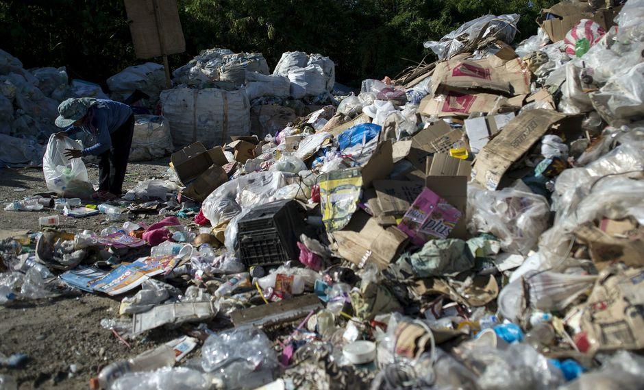 La polución por plástico continúan siendo un problema urgente en el mundo. (Foto: AFP)