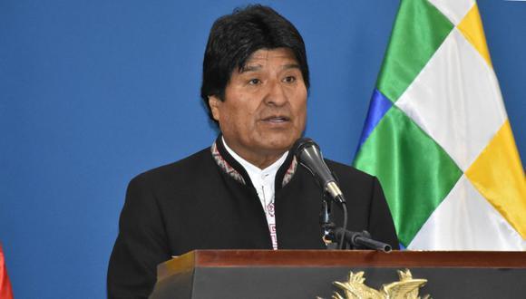 El mandatario de Bolivia, Evo Morales, se pronunció tras el fallo de la Corte de La Haya. (Foto: EFE)