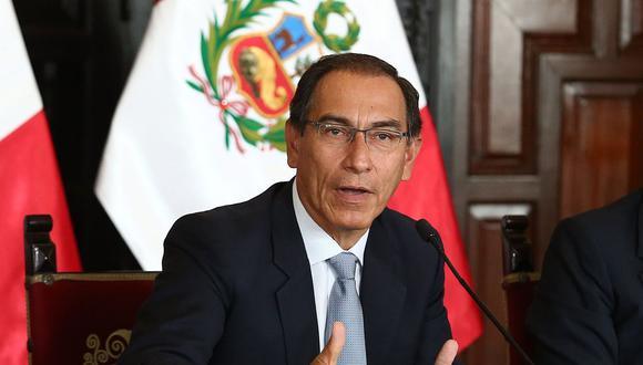 Vizcarra explicó que, pese a sus opiniones sobre el monto de la reparación civil en el acuerdo de colaboración eficaz con Odebrecth, respeta lo realizado por la fiscalía. (Foto: GEC / Video: TVPerú Noticias)