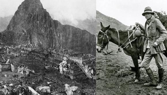"""""""Reconocemos a Bingham como su 'descubridor científico', porque enseña Machu Picchu a occidente y dedica gran parte de su vida a escribir sobre la ciudadela, los incas y otros temas"""", señala Bastante."""